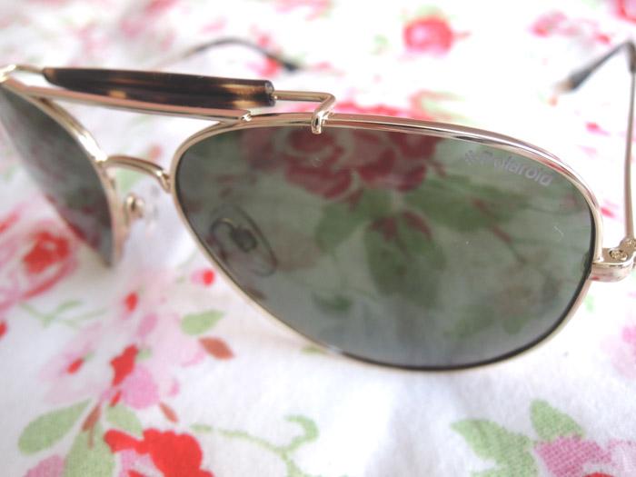 Polaroid Sunglasses Fashionblog Mode Blog Sonnenbrille Pilotenbrille Sunnies