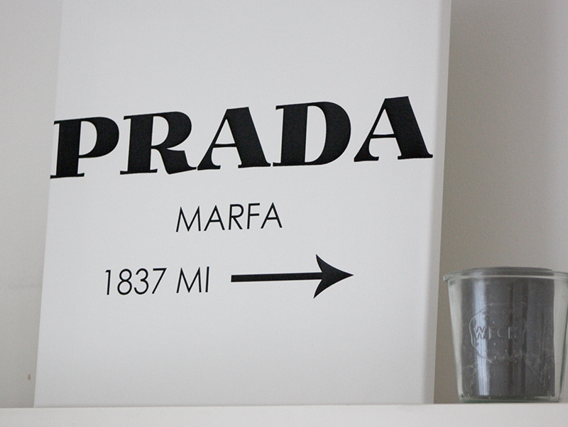 Fashion Blog DIY Bild Prada
