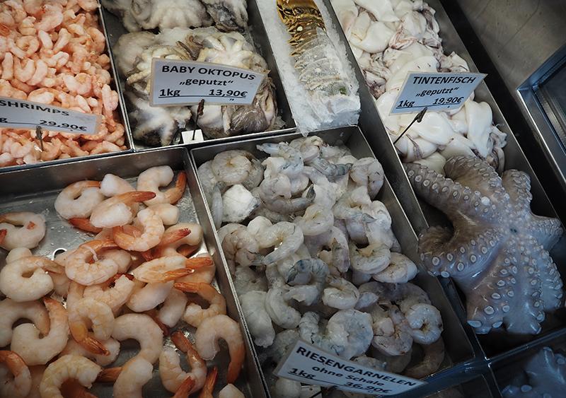 Vienna Naschmarkt Food