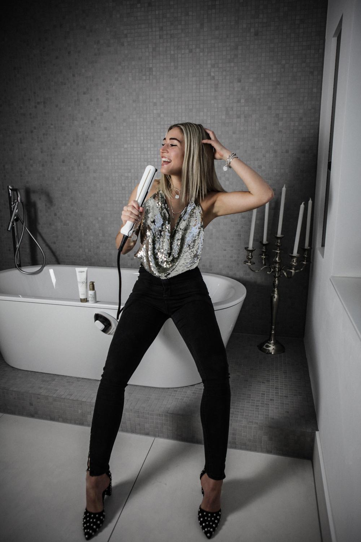 Lauralamode Loreal Steampod Loreal Steam Pod Lorealpro Hair Lorealhair Blonde Sleek Hair Smooth Hair Longbob Beauty Haarglätter Glätteisen Berlin Munich Deutschland4