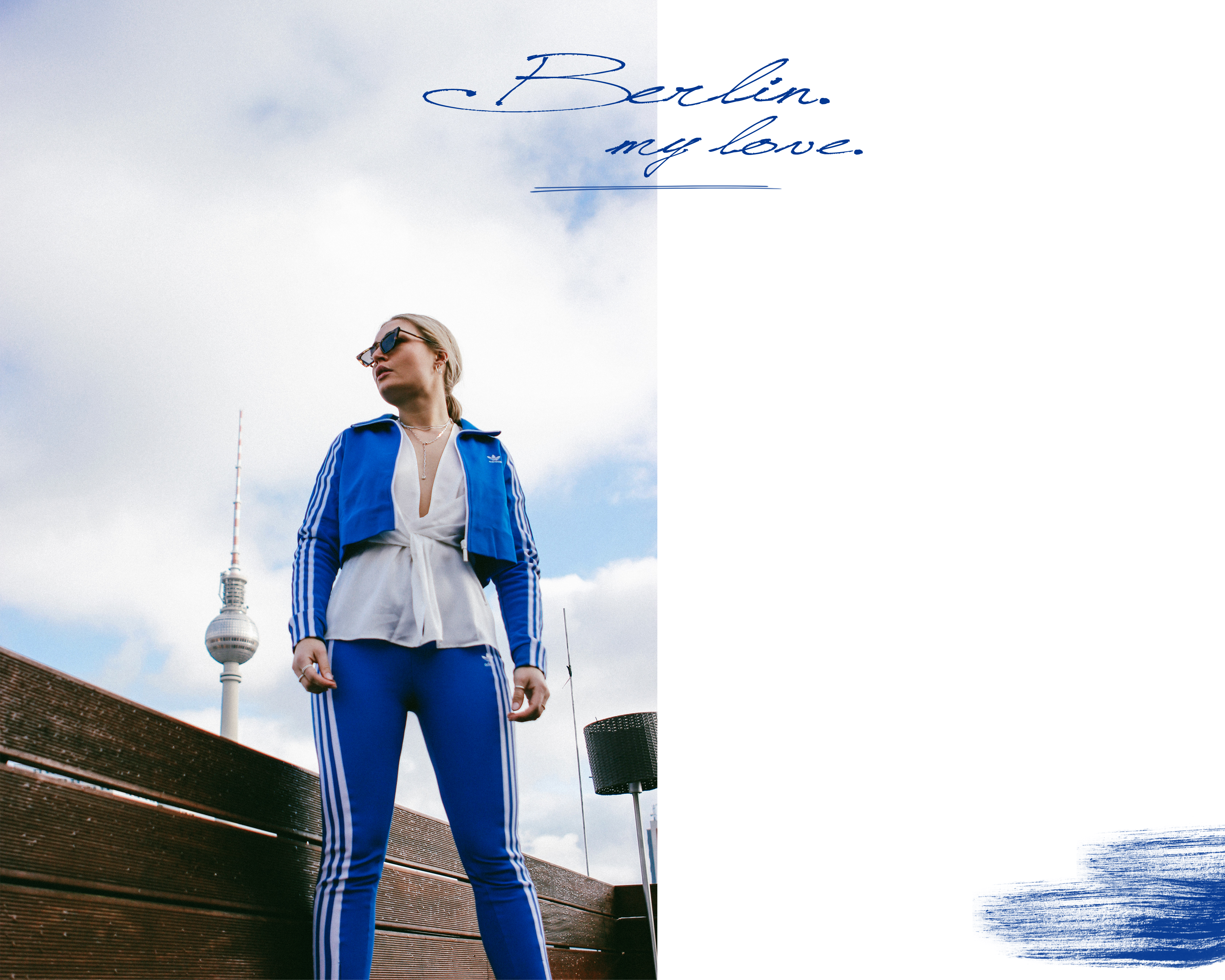 Lauralamode Adidas Adidas Originals Blogger Berlin Hotel Amano Outfit Ootd Streetstyle Style Inspiration Mango Tracksuit Look Fashion Fashionblogger Modeblogger
