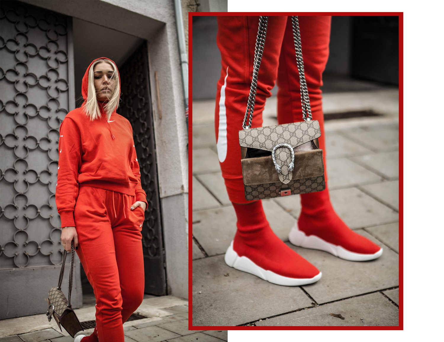 Lauralamode Outfit Nike Look Colors Of California Gucci Junkyard Ootd Outfit Of The Day Inspo Inspiration Berlin Blogger Fashionblogger Modeblogger Deutschland5