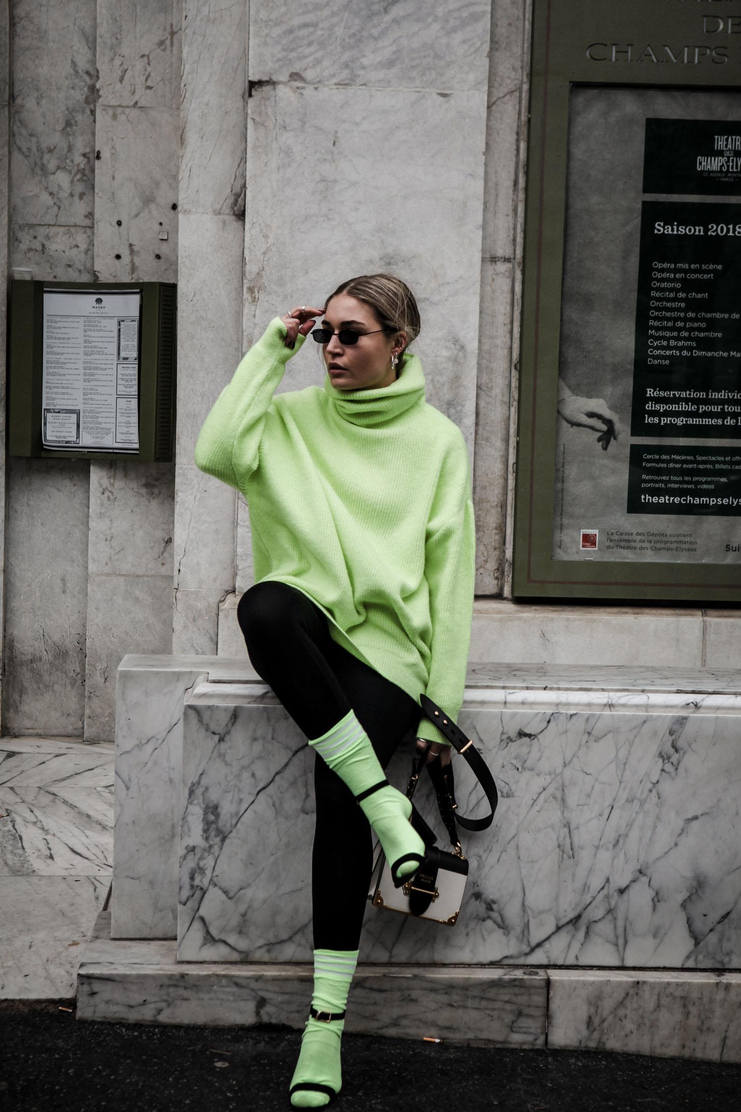 Lauralamode Blogger Fashion Mode Style Inspiration Fashionblogger Modeblogger Inspo Instagram Style Fashionblogger Berlin Neon Style Streetstyle Paris Prada Chiquelle Munich