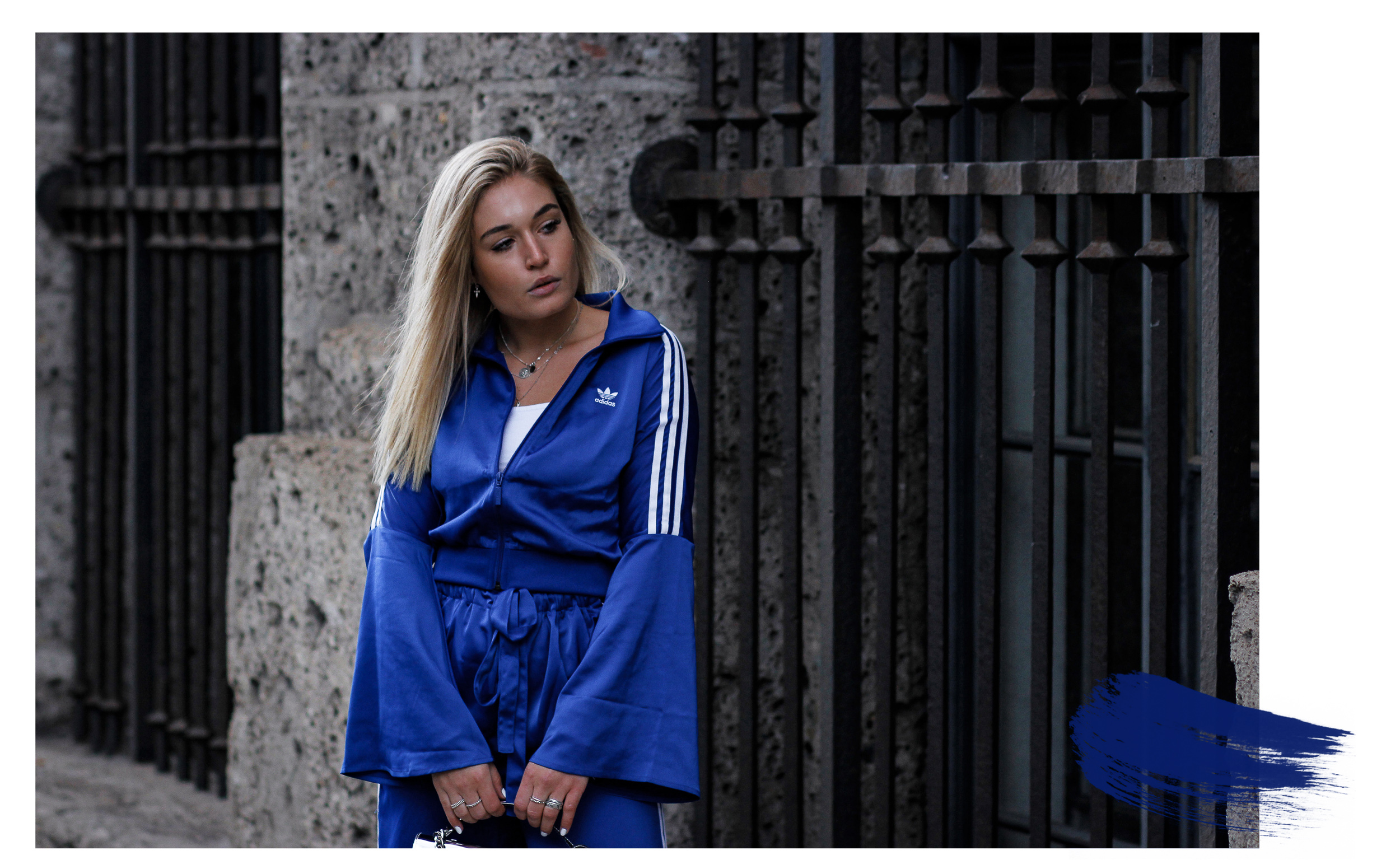 Lauralamode Blog Fashion Adidas Adidas Suit Tracksuit Adidas Originals Look Streetstyle Autumn Herbst Ozweego Calvin Klein Sneakers Berlin Munich2