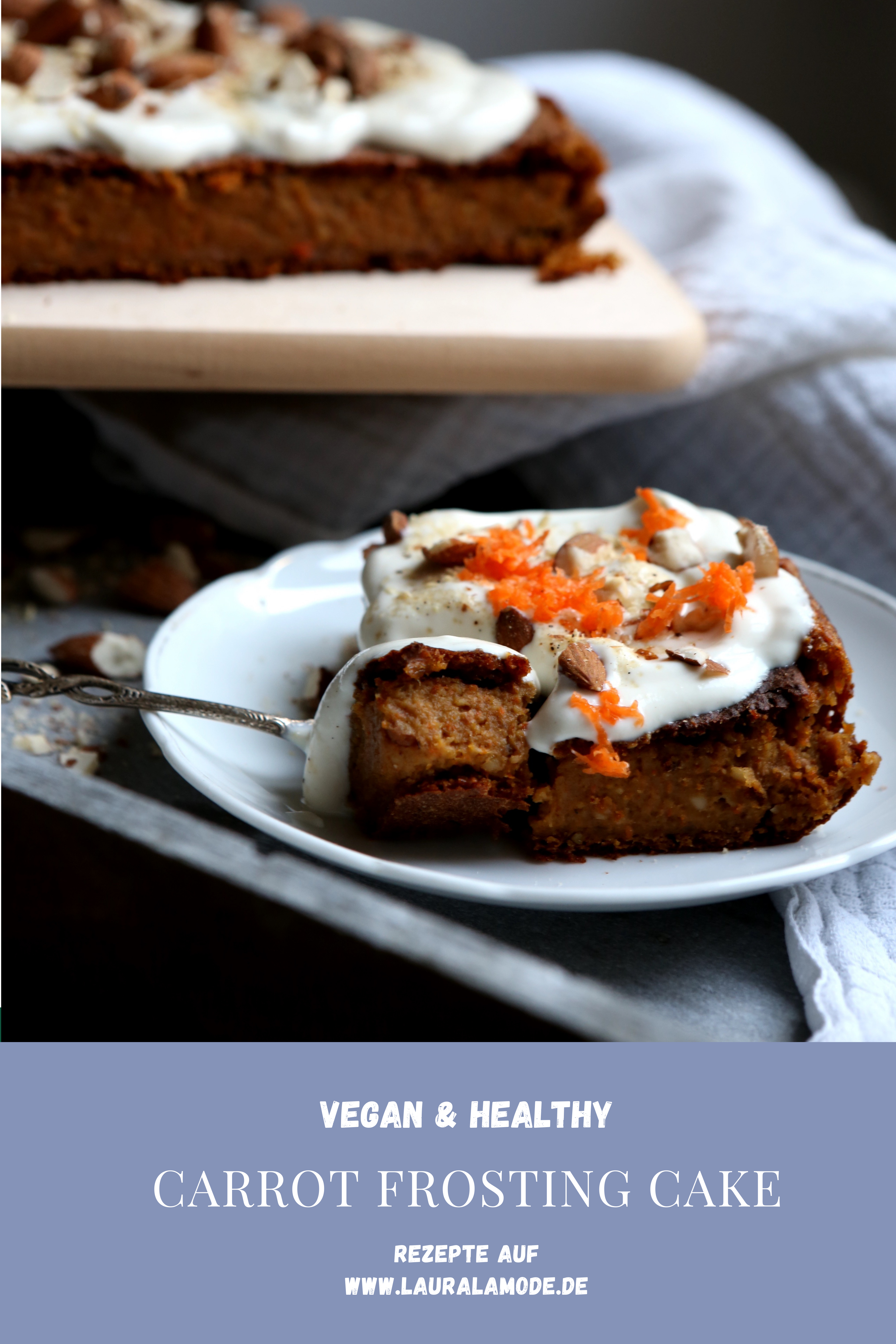carrot cake-food-vegan-rezept-karotten kuchen-möhrenkuchen-healthy-healthy cake-fit food-fitness-fitness food-foodies-fitness food-low carb-abnehmen-foodblogger-foodblog-lauralamode