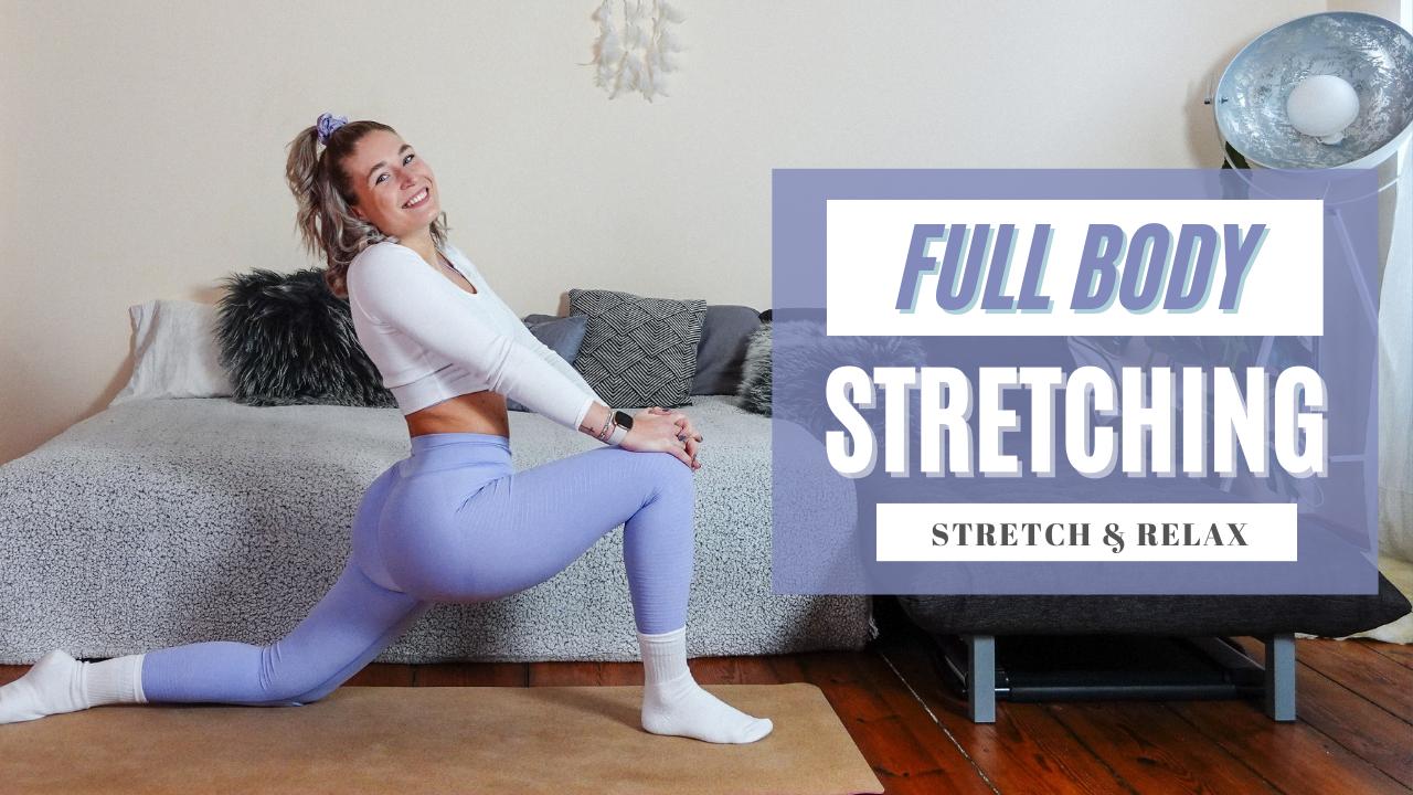 Full body yoga stretching routine - beginner friendly - anfänger yoga - dehn routine