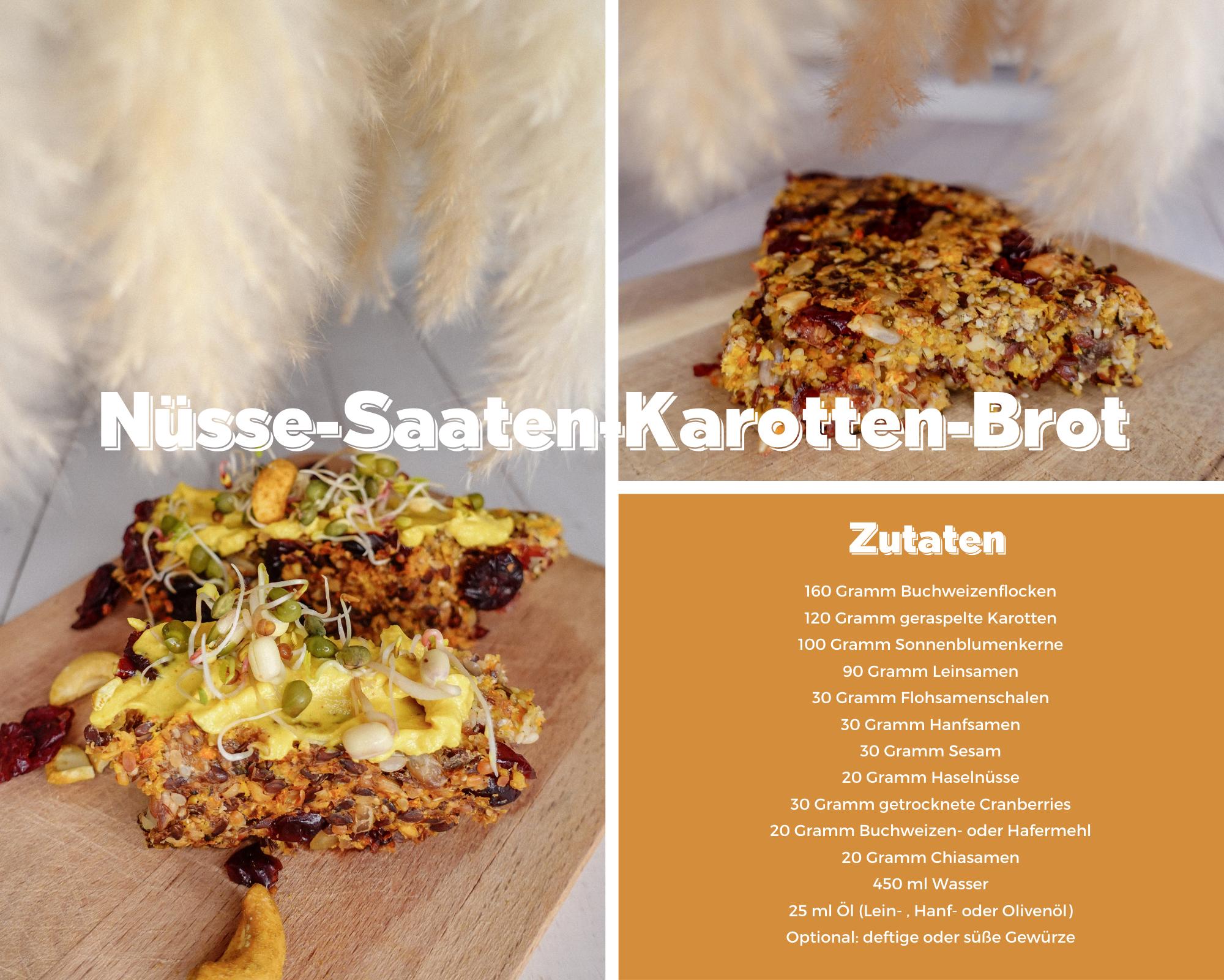 saatenbrot-nüssebrot-wunderbrot-basisches brot-basische ernährung-gesunde ernährung-health-karottenbrot-lowcarb brot-rezept