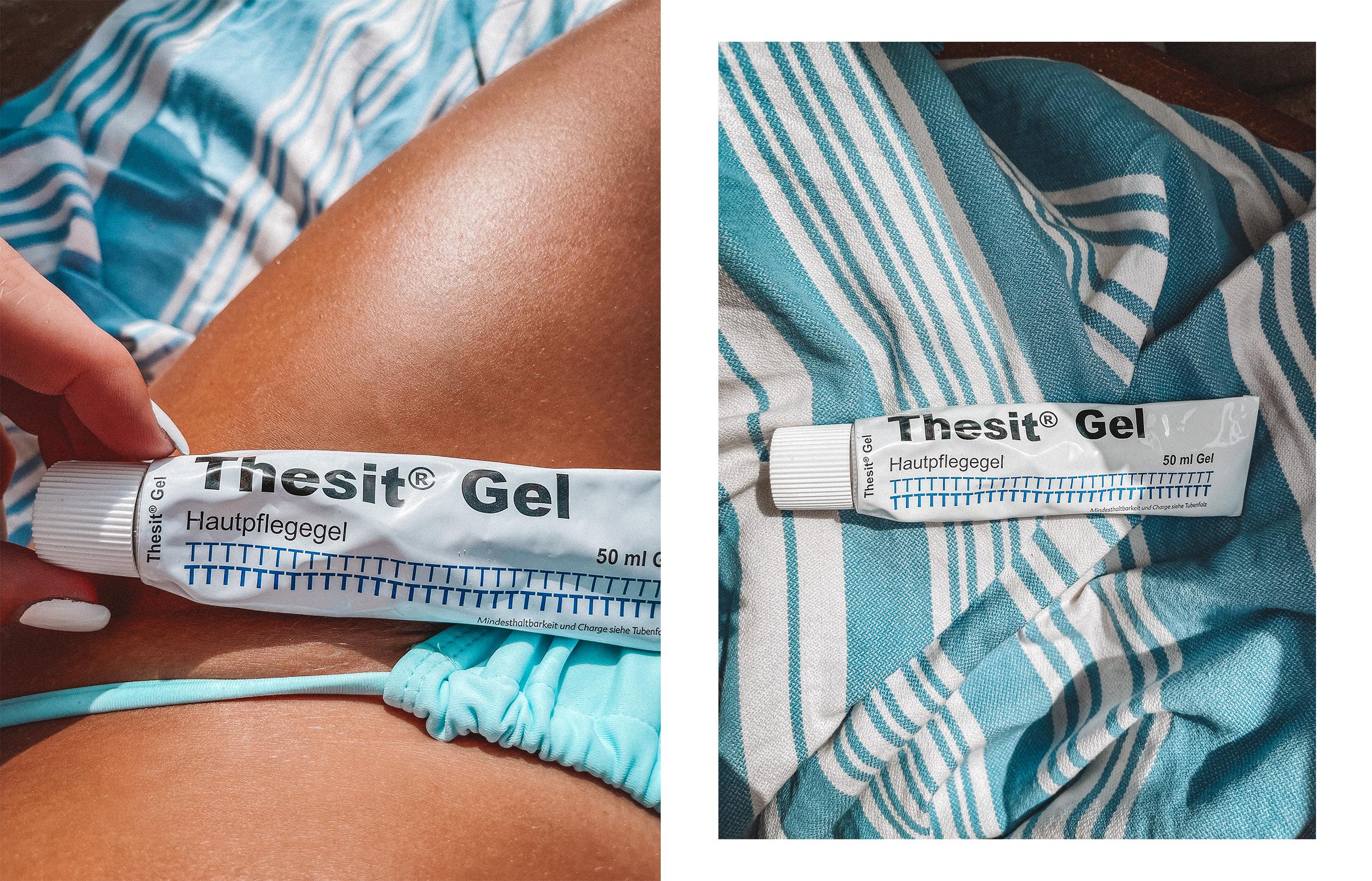 Lauralamode Thesit Hautgel Mückenstich Sonnenbrand T Skincare Summer Beauty Product Sonnebrand Hilfe Mückenstiche Lindern5